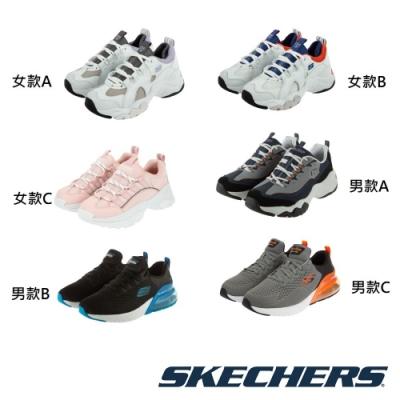SKECHERS 男女時尚運動休閒鞋