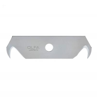 日本製造OLFA替換刀片替刃XB108F(2片入;日本品番HOB-2)台灣公司貨