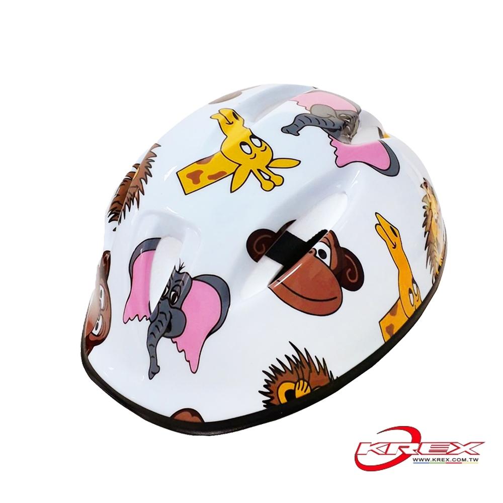 KREX CS-2700 兒童自行車安全帽 可愛動物