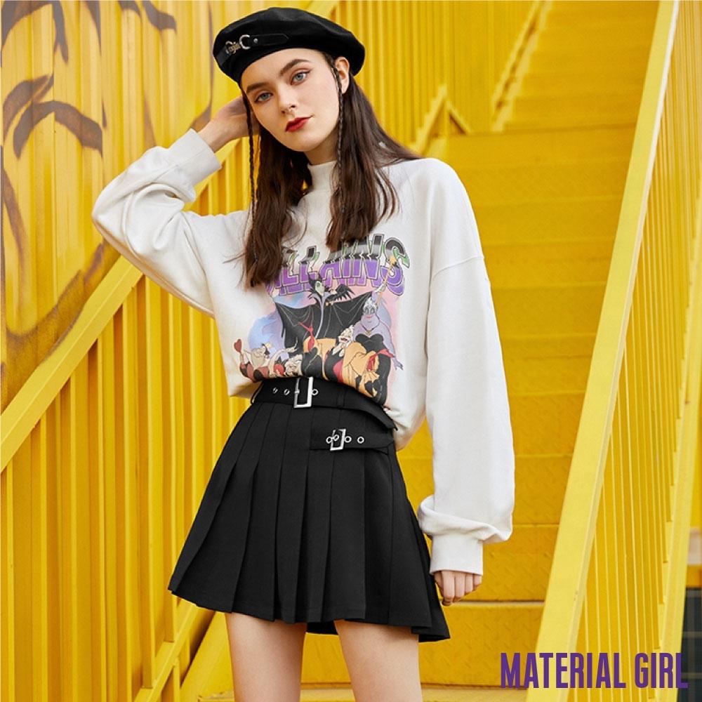 MATERIAL GIRL 迪士尼反派系列不對稱百褶裙【春季新品】-A463589