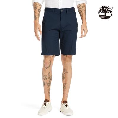 Timberland 男款深寶石藍SQUAM LAKE卡其短褲|A2DFD