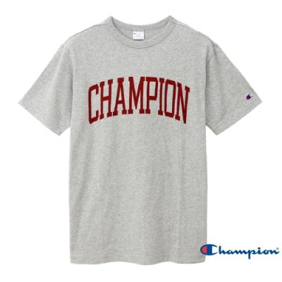 Champion Campus大字LOGO短Tee 灰色