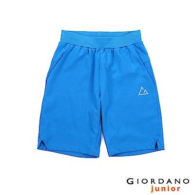 GIORDANO 童裝G-MOTION吸濕排汗運動短褲-68 維多利亞藍