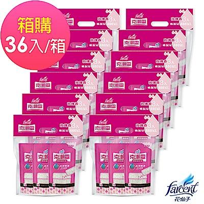 克潮靈 環保除濕桶補充包-玫瑰香(3入/組,12組/箱)箱購