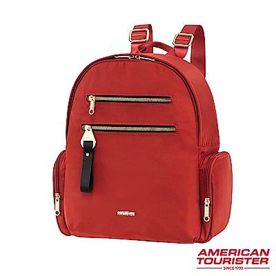 AT美國旅行者 Alizee IV輕量多夾層大容量後背包(紅)