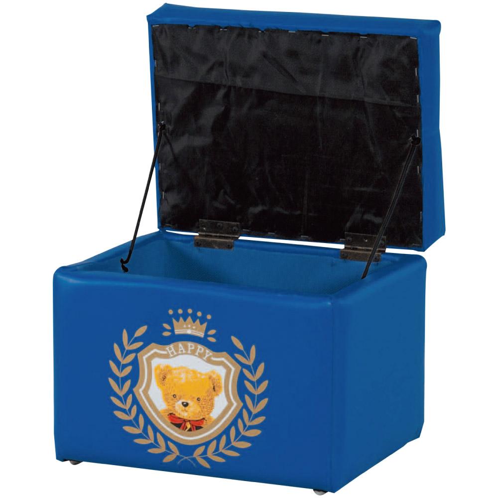 綠活居 莫巴亞麻布&皮革可收納椅凳/儲物凳(四色)-40x30x35cm免組
