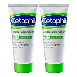Cetaphil 舒特膚 長效潤膚霜 100g 二入組+舒特膚時尚托特包