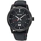 SEIKO精工 CS 城市系列大日期視窗手錶(SUR271P1)-黑/40mm