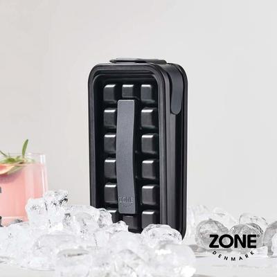 丹麥ZONE Rocks隨行兩用摺疊式製冰壺(18格)