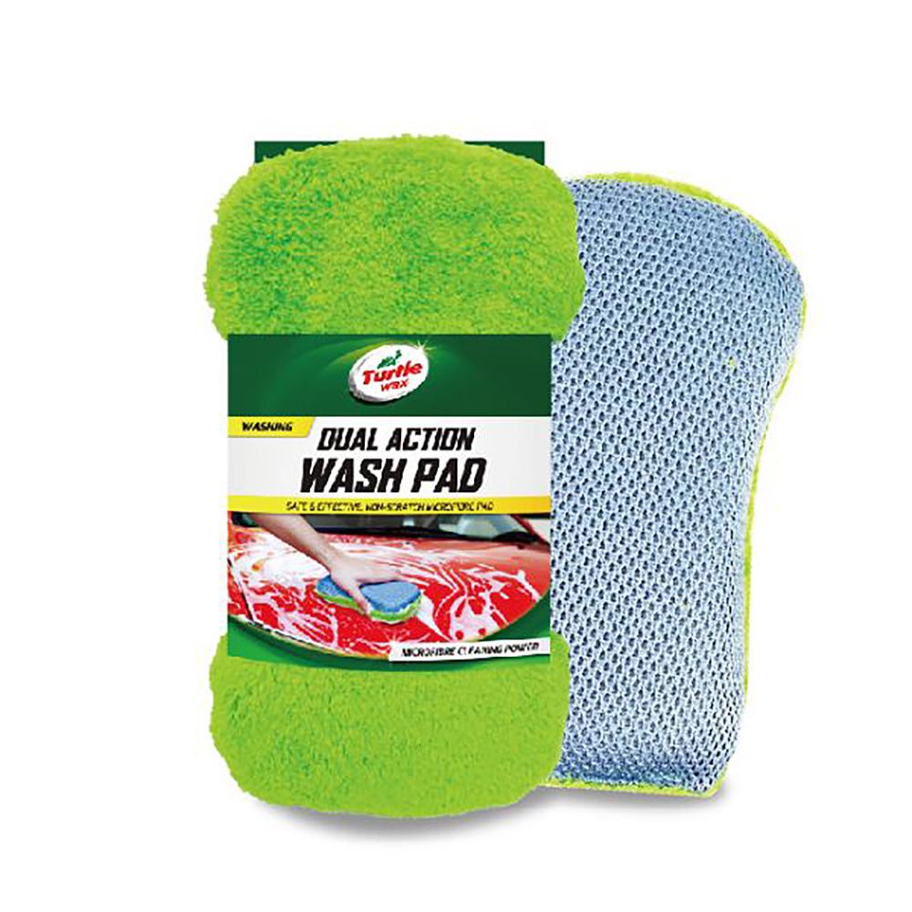 美國龜牌雙面洗車海綿TW115