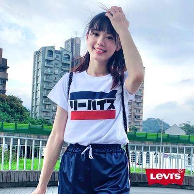 Levis 女款 短袖T恤 More Than Medals 系列 日文Logo
