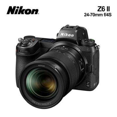 Nikon尼康 Z6II (Z6 II) KIT 24-70mm f/4 S 全幅單眼相機 (國祥公司貨)