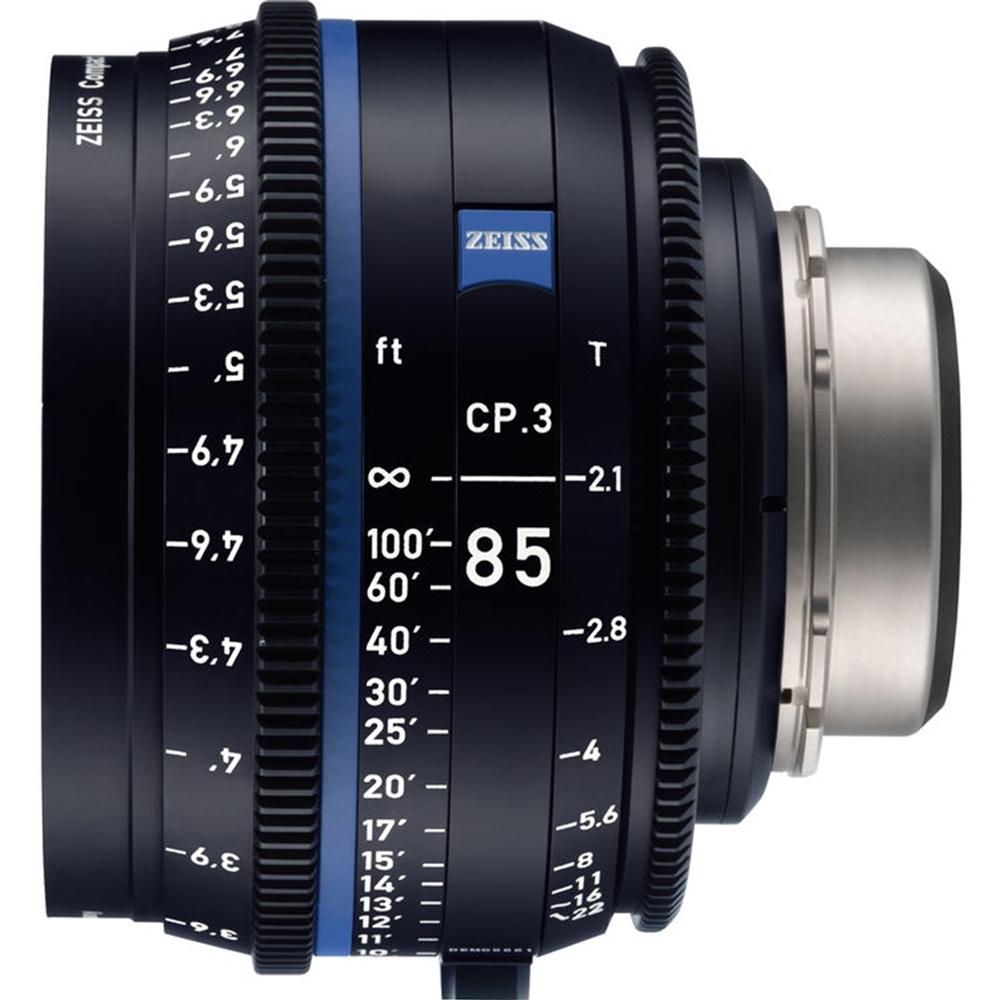 蔡司 Zeiss CP.3 85mm T2.1 Feet 電影定焦鏡頭 公司貨