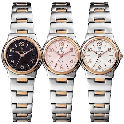 OlymPianus奧柏表 粉彩系列簡約腕錶-雙色