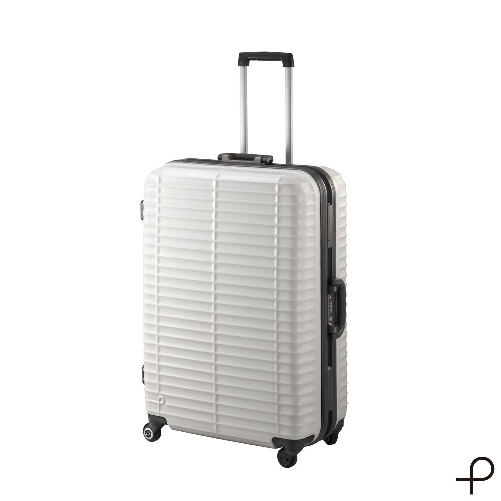 【日本製造PROTECA】剛容-27吋最高強度鋁框行李箱 (暖灰)