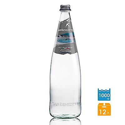 San Benedetto聖碧濤 義大利氣泡礦泉水玻璃瓶(1Lx12入)