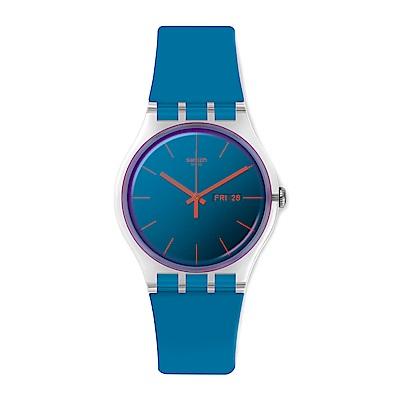 Swatch  Transformation系列 POLABLUE 極地正藍