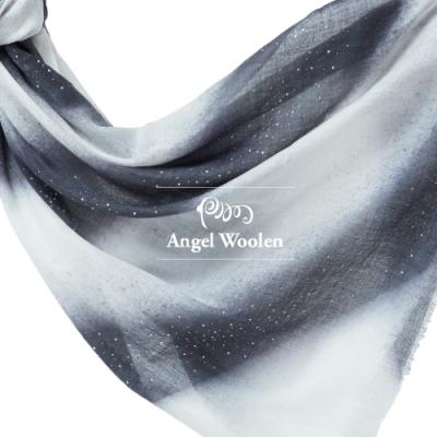 【ANGEL WOOLEN】絢爛星光印度手工水鑽披肩(共三色)