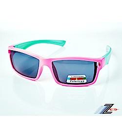 【Z-POLS】兒童專用矽膠軟質彈性壓不壞 Polarized寶麗來偏光太陽眼鏡S13