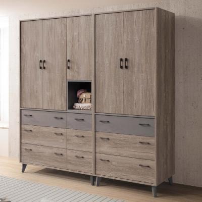 H&D 奧蘭多7X7組合衣櫥