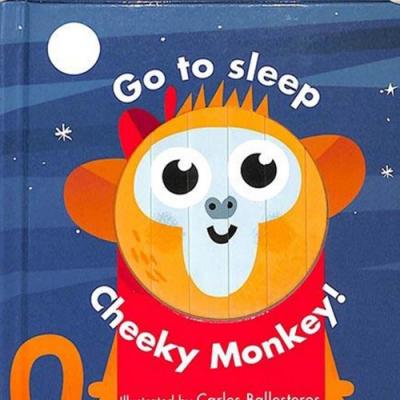 Go To Sleep Cheeky Monkey! 變臉操作書:淘氣小猴篇