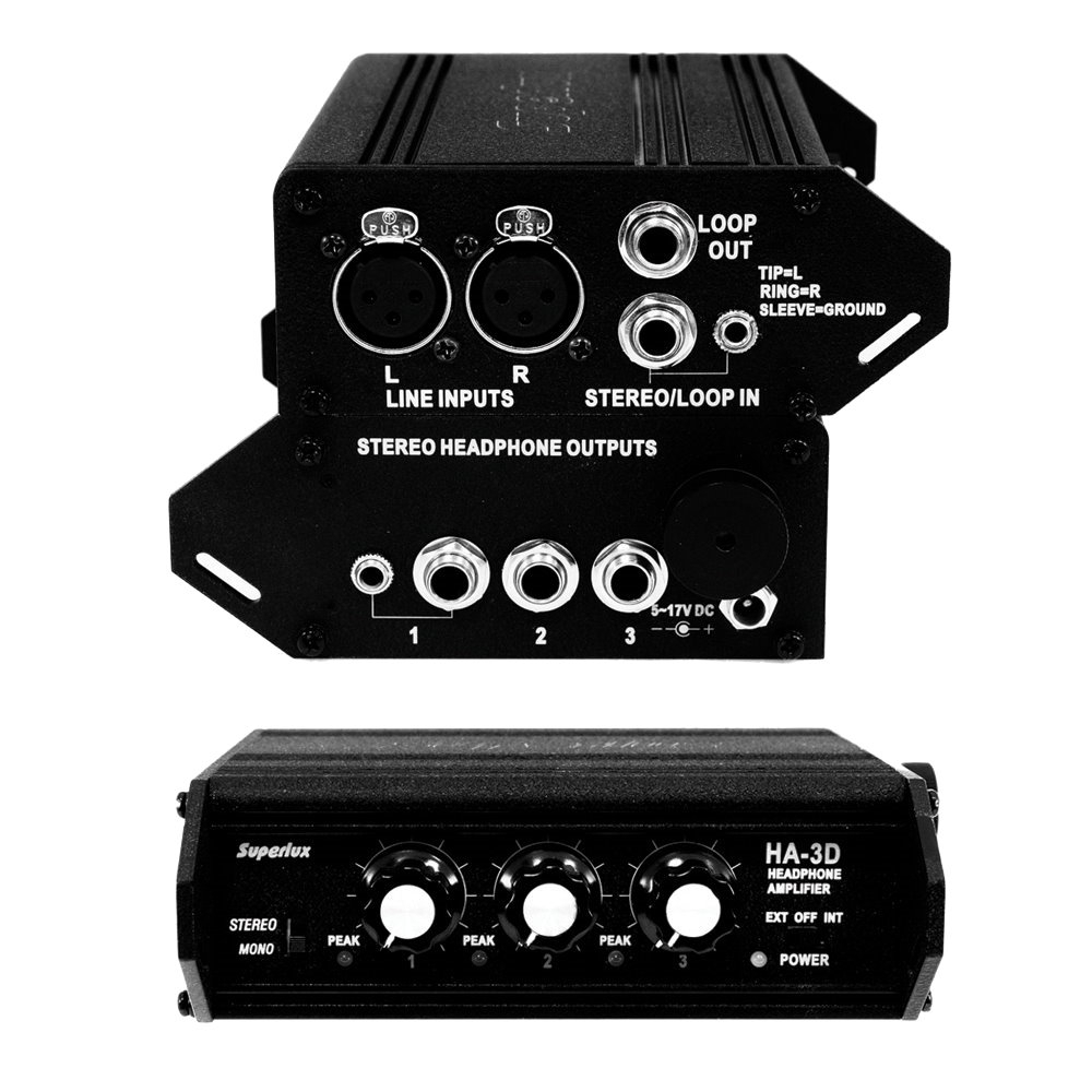 Superlux 攜帶式耳機擴大機 HA3D
