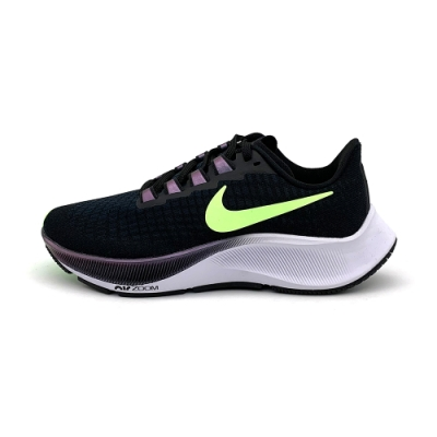Nike Air Zoom Pegasus 37 女慢跑鞋-黑綠-BQ9647001