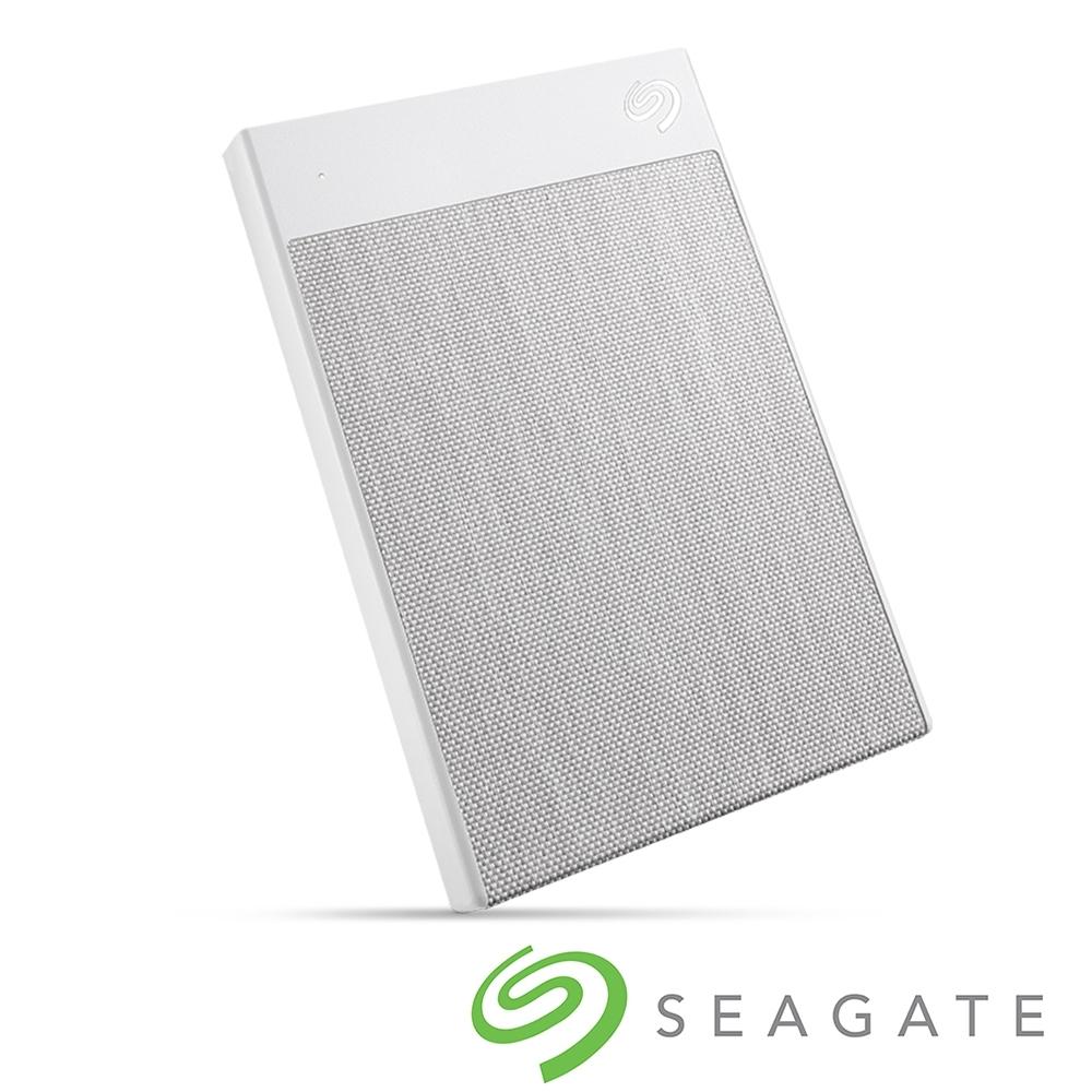 Seagate Backup Plus Ultra Touch 1TB 外接硬碟-晨霧白
