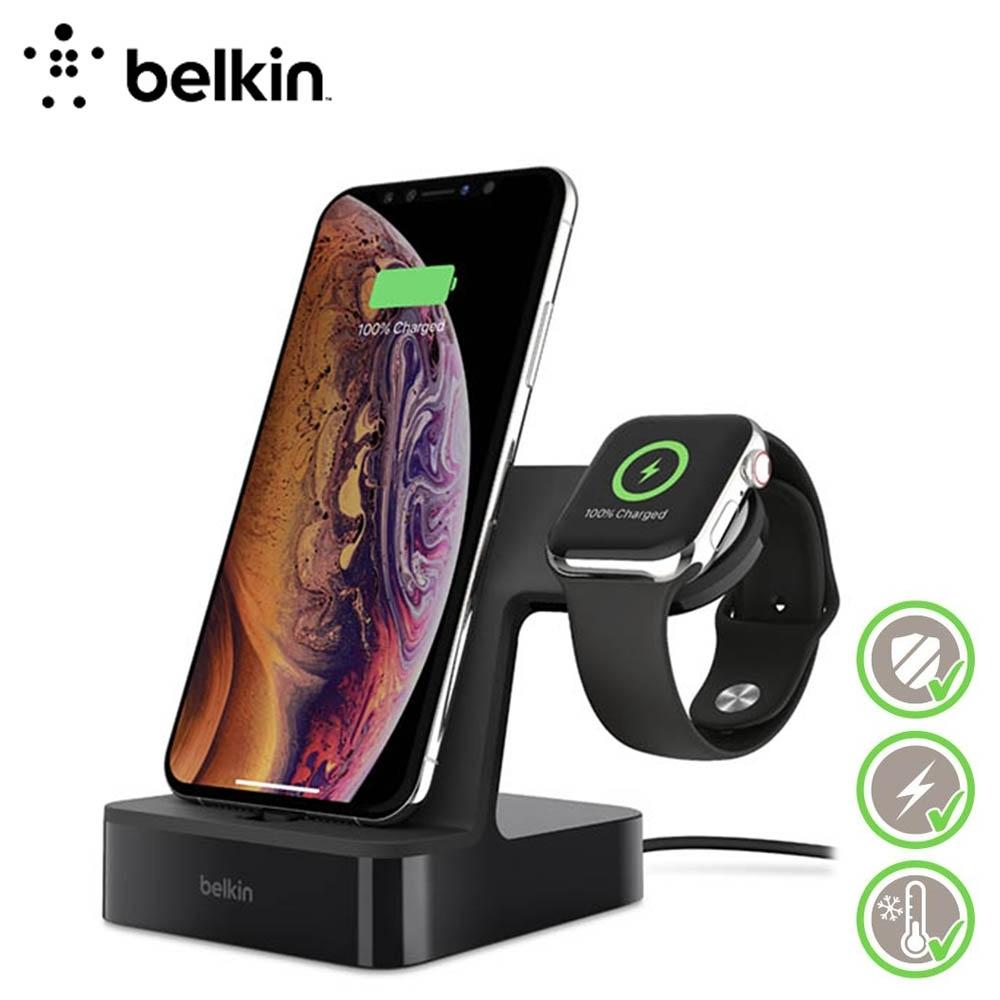 Belkin PowerHouse 二合一充電座 Apple Watch+iPhone