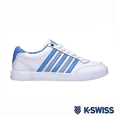 K-Swiss Court Lite CMF休閒運動鞋-女-白/藍