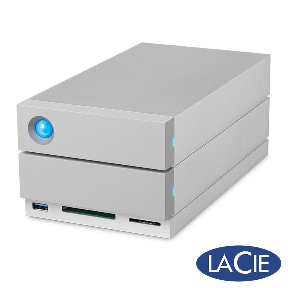 LaCie 2big Dock Thunderbolt3 16TB 外接硬碟