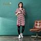 【Dailo】條紋單釦造型短袖-洋裝(三色/版型適中) product thumbnail 1