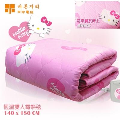 韓國甲珍 Hello Kitty 雙人恆溫電毯 NHB-303KT