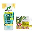 Dr. Organic_茶樹清新深層潔面露送活性茶樹淨膚隨身棒
