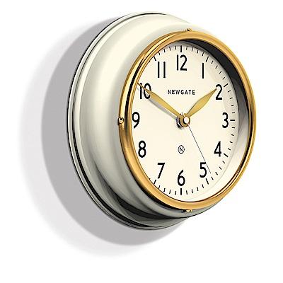 Newgate 英倫風格時鐘-經典數字-奶油白-23cm