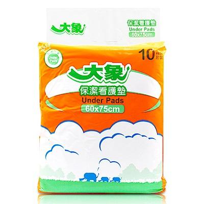 大象 保潔看護墊-抗菌除臭新升級60x75cm(10片x12包/箱)
