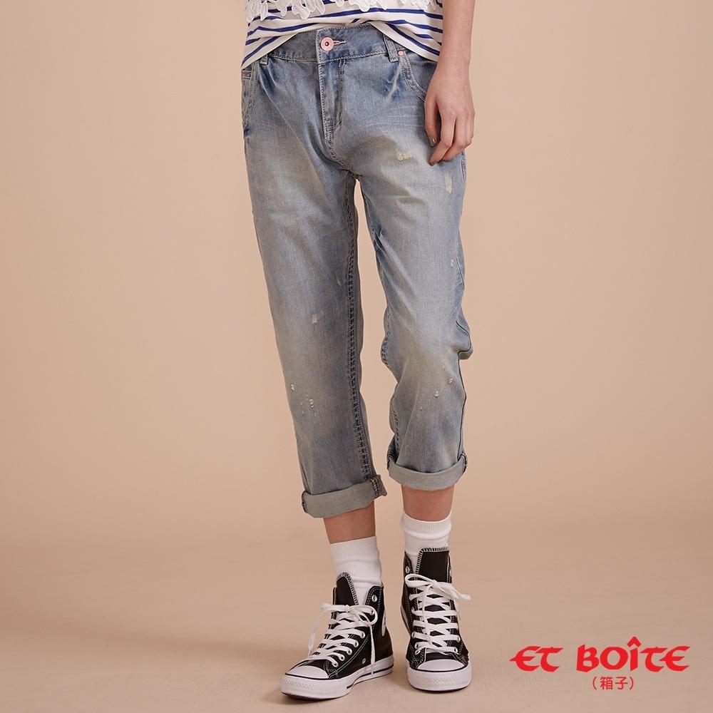 ET BOîTE 箱子 BLUE WAY –造形小跨褲