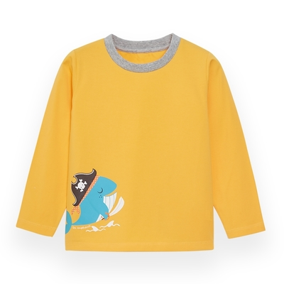 【麗嬰房】EASY輕鬆系列 男童海盜樂園長袖上衣 (76cm~130cm)