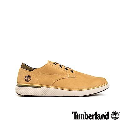 Timberland 男款中駝色磨砂革牛津鞋|A22K1