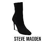 STEVE MADDEN-CENTURY-尖頭高跟短筒套靴-黑色