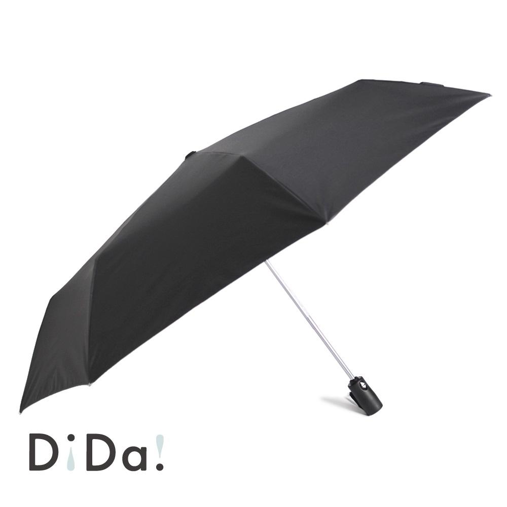DiDa 雨傘 輕量八骨安全自動傘 黑灰色