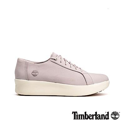 Timberland 女款淺紫色輕量厚底運動休閒鞋|A1T72