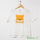 bossini女裝-小熊維尼印花短袖T恤02灰白