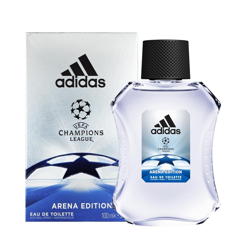 *Adidas 愛迪達 歐冠聯盟限量版運動男性淡香水100ml