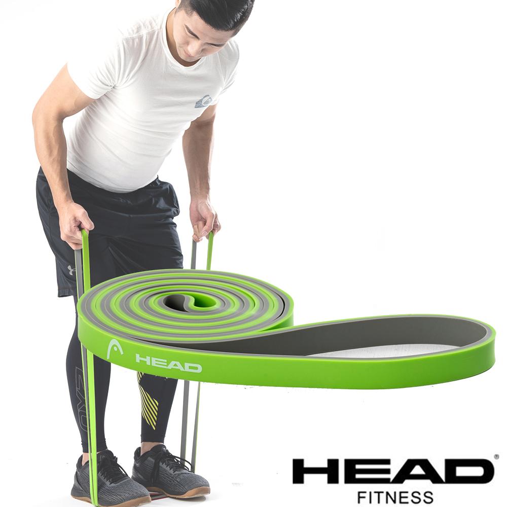 HEAD 雙色環狀阻力帶(羽量級)-綠灰-寬1.3cm @ Y!購物