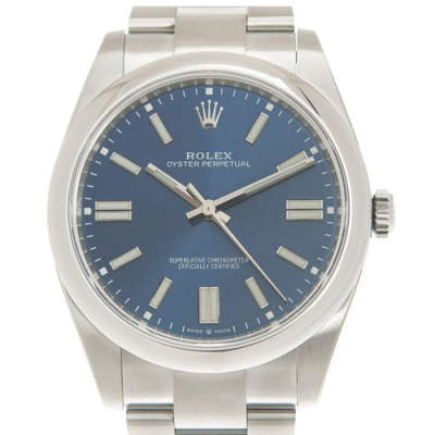 ROLEX 勞力士 124300 Oyster Perpetual蠔式經典藍面x 41mm