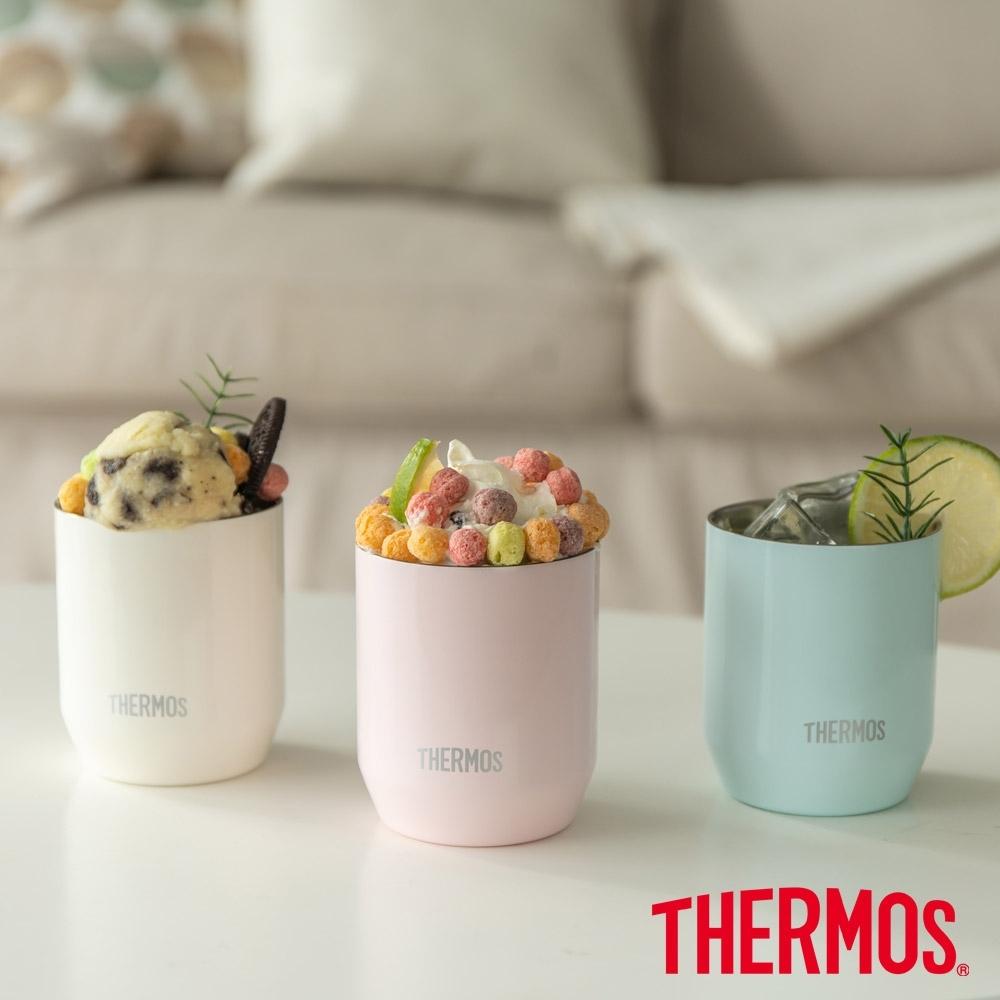 THERMOS膳魔師 不鏽鋼真空杯冰沁杯0.28L(JDH-280C)