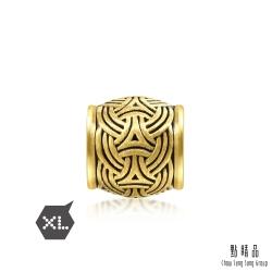 XL 維京編結 黃金串珠