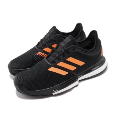 adidas 網球鞋 SoleCourt 低筒 運動 男鞋