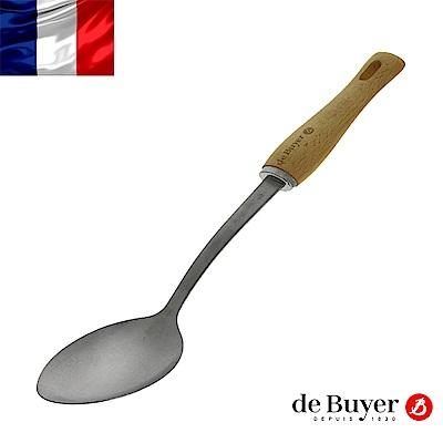 de Buyer畢耶 蜂蠟木柄系列-調理長匙33.5cm